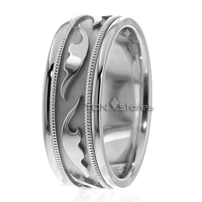 14k white gold mens celtic wedding bands rings mens celtic